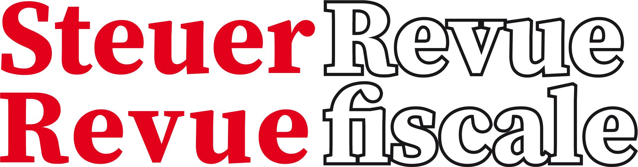 Logo Steuer Revue - Revue fiscale