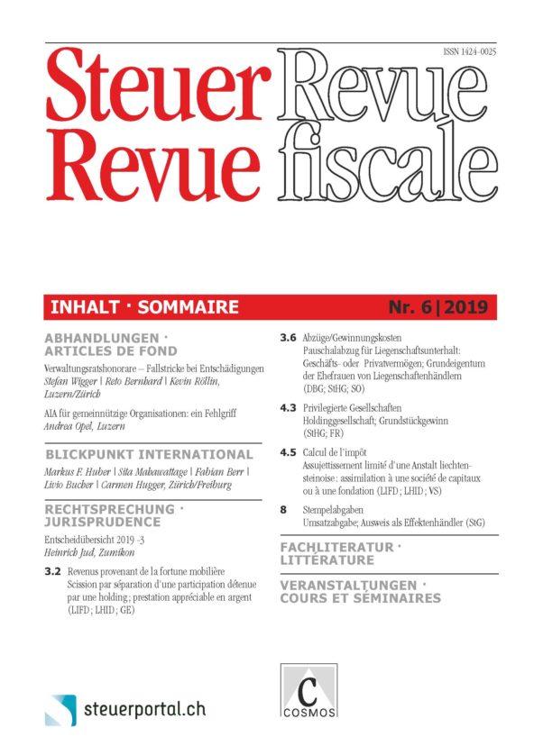 Steuer Revue 6/2019